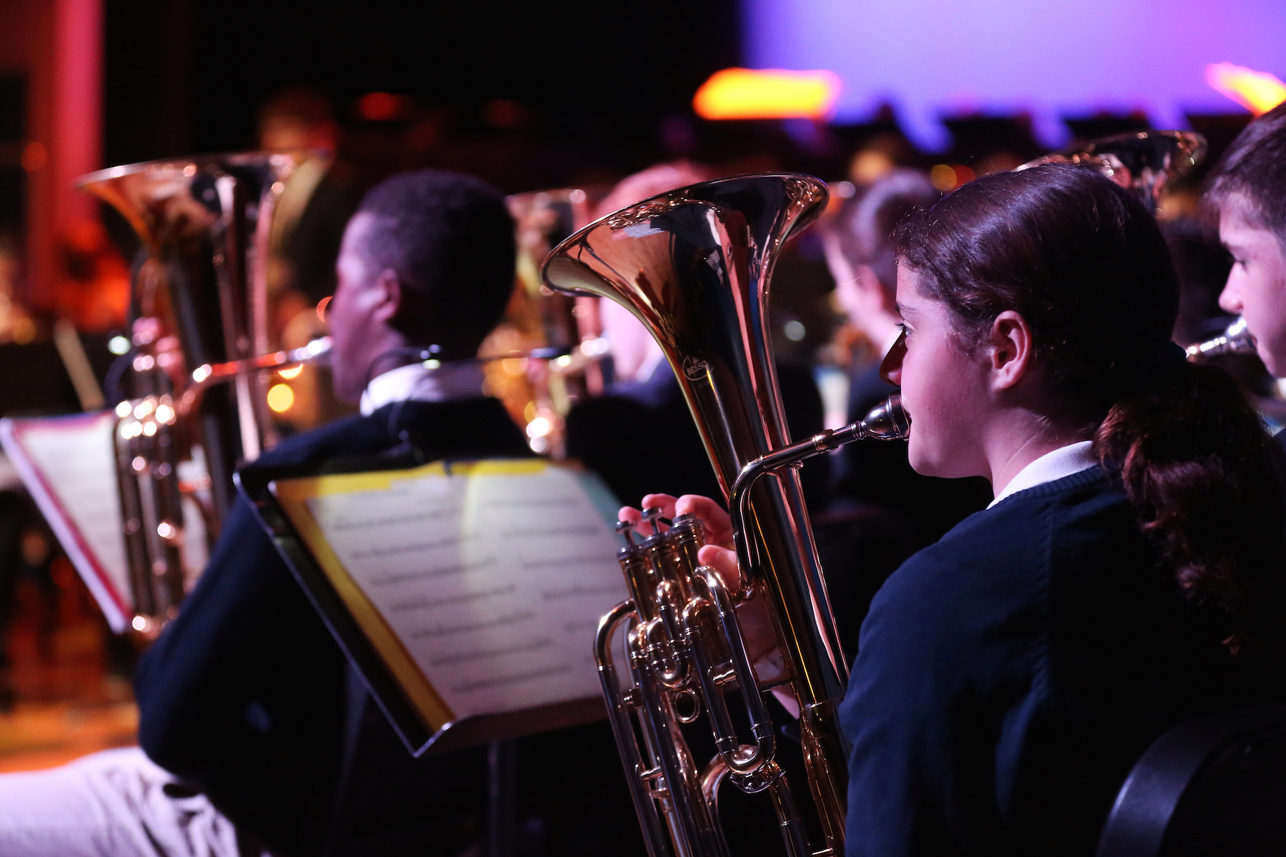 Brass Band Helps Launch Scottish #ChangeTheTune Music Education Movement