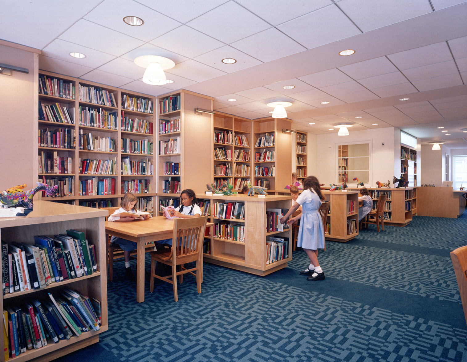 National Library Month: Showcasing the C.V. Starr Library and Learning Center