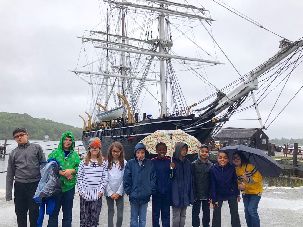 Fifth Graders Make a Colonial Connection in Mystic, Connecticut